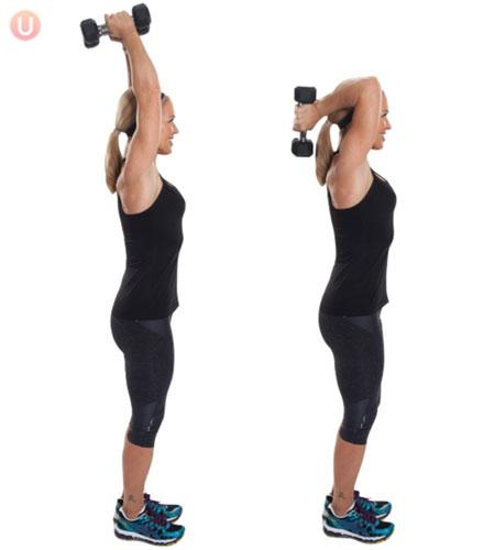 kako smanjiti obim ruku i ramena