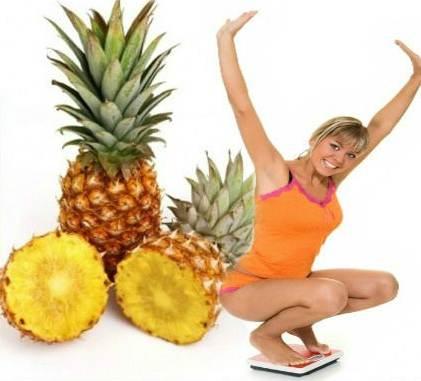 ananas za mrsavljenje