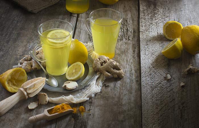 kurkuma i limun za fleke