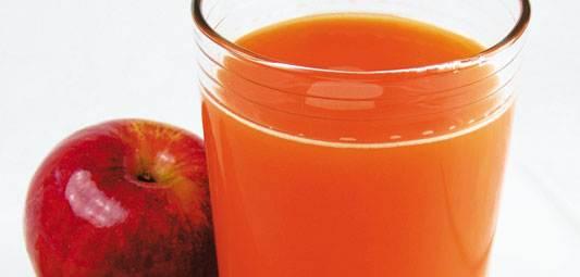 sok od sargarepe i jabuke